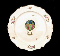 Niderviller Porcelain Plate
