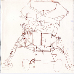 Drawing, Pen and Ink on Paper