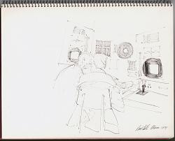 2 Technicians at Console