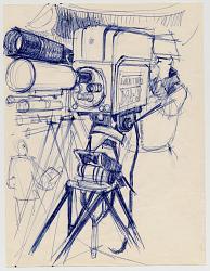 TV Camera and Cameraman