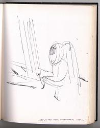 Drawing, Felt Tip Pen on Paper