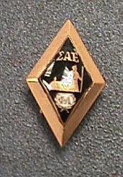 Pin, Lapel, Fraternity, Sigma Alpha Epsilon, Robert H. Goddard