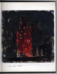 ICBM Row at Night