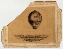 Photo-zincograph of Le Flesselle, 1864.