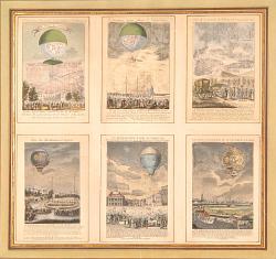 Six Balloon Prints