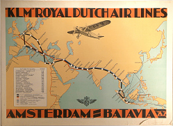 """KLM"" Royal Dutch Air Lines: Amsterdam-Batavia"