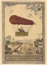 L'ascension de Cessu-Brissy à Limoges en 1786
