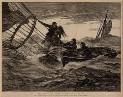 Rescue of the Aeronauts in the North Sea