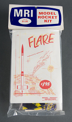 Rocket, Flying Model, Flare