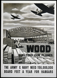 Wood Shelters Our Planes
