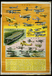 The Military Airplanes of Various Countries