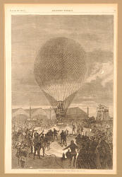 The Departure of a Post Balloon from Paris