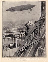 M. Santos-Dumont's Experiments in Aerial Navigation in Paris