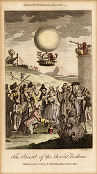 The Ascent of the Aerial Balloon