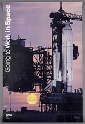 """Going to work in Space"", Columbia First launch"