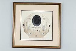 Drawing, Simon Atkinson, 2001: A Space Odyssey, EVA Pod