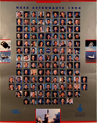 Shuttle Astronauts Active in 1994