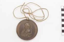 James Madison peace medal (dated 1809)
