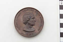 Andrew Johnson Peace medal dated 1865