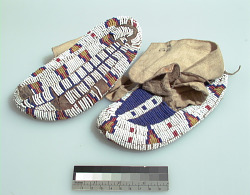 Child's moccasins