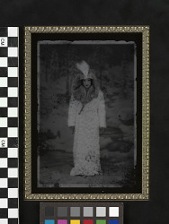 Miss Chief as Cindy Silverscreen, a fictitious Hollywood silent film starlet