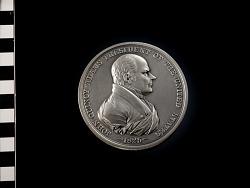 Restrike of John Quincy Adams peace medal (1825)