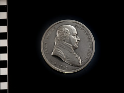 Restrike of John Adams peace medal (1797)