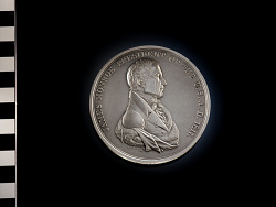 Restrike of James Monroe peace medal (1817)