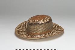 Woman's basket hat