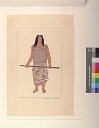 A Kwakiutl Warrior, 1800
