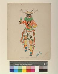 Zuni Corn Dancer