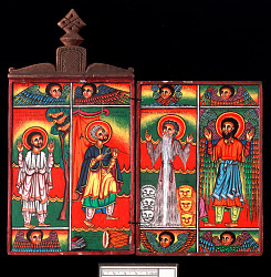 Painted Icon, Diptych