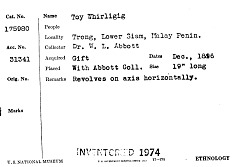 Toy Whirligig