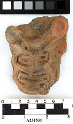 Fragment Of Decorated Pottery