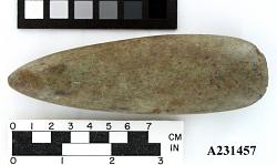 Polished Stone Hatchet.