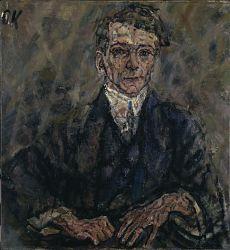 Portrait of Egon Wellesz