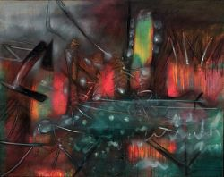 """Complete Light (Study for """"On The Fringes Of Dreaming"""")"""