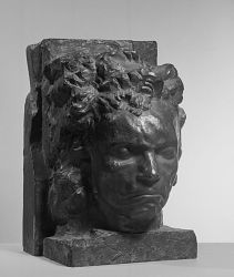 Head Of Beethoven With Architecture
