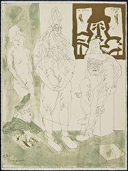 (Cuevas Comedies, Portfolio) The Giants in Matisse's Atelier