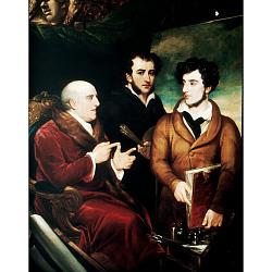 Benjamin West, Frank Wilkin and Henry Wilkin