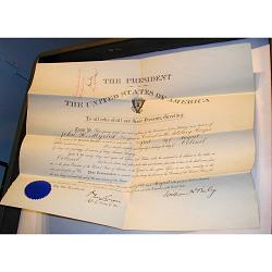 William McKinley's autograph