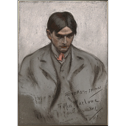 Everett Shinn Self-Portrait