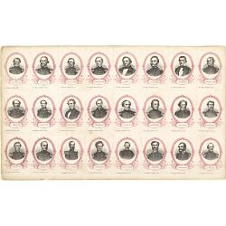 Confederate Political Leaders and Generals