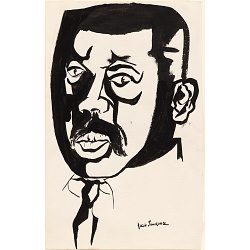 Jacob Lawrence Self-Portrait