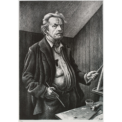Thomas Hart Benton Self-Portrait