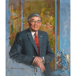 Portrait Analysis: Norman Mineta