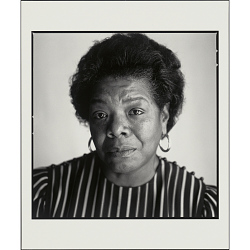 Maya Angelou, Algonquin Hotel, New York, NY, 1987
