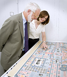 Clough Visits National Postal Museum