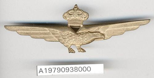 Badge, Pilot, Italian Army Air Force