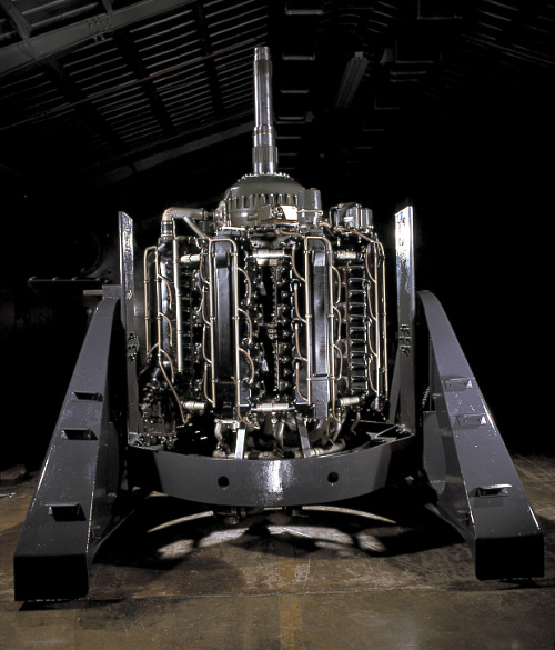 Lycoming XR-7755-3, Radial 36 Engine